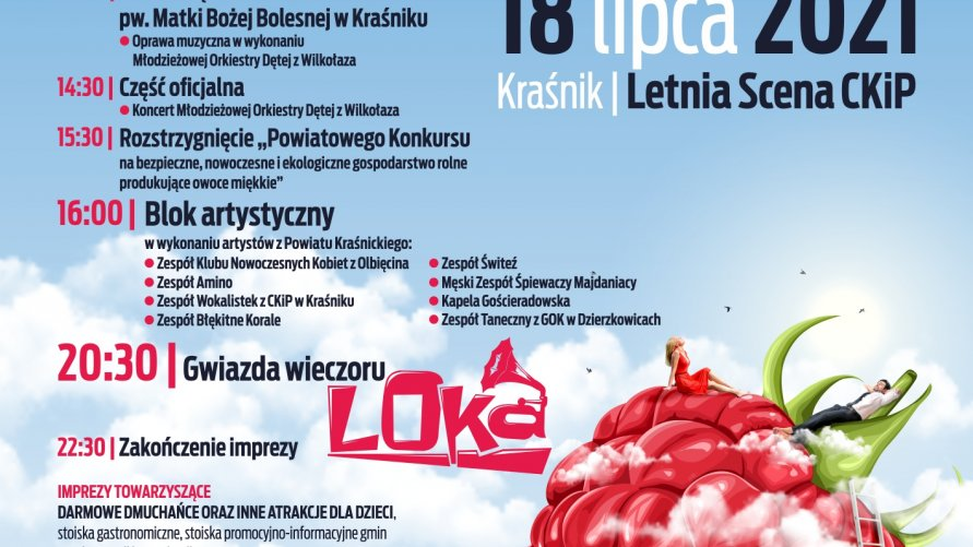 """""""Festiwal MALINIAKI 2021"""""""