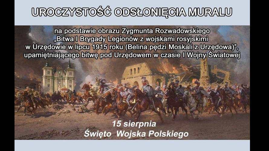 Plakat zapraszający na wydarzenie.